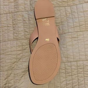Tory Burch Shoes - Never worn! Tory Burch Monroe leather sandals